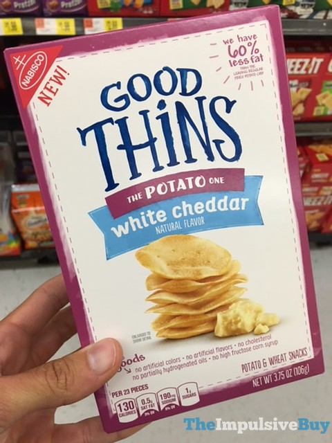 Good Thins Potato White Cheddar