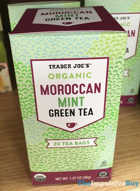 Trader Joe's Organic Moroccan Mint Green Tea
