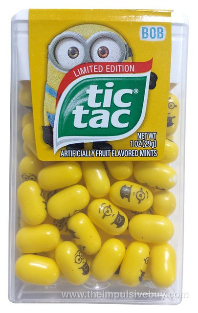 Limited Edition Minions Tic Tac