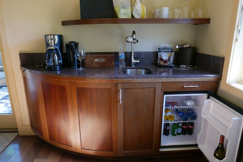 Kitchenette at Calistoga Ranch