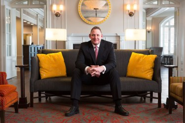 Tim Ostream of Algonquin Resort