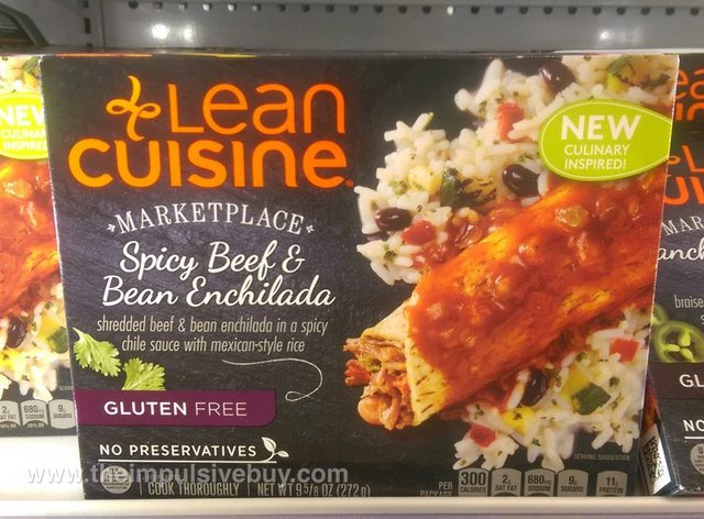 Lean Cuisine Marketplace Spicy Beef & Bean Enchilada