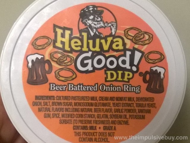 Heluva Good Beer Battered Onion Ring Dip