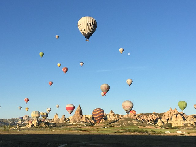 世界遺產,卡帕多奇亞,土耳其,歐亞國家,熱氣球 @VIVIYU小世界