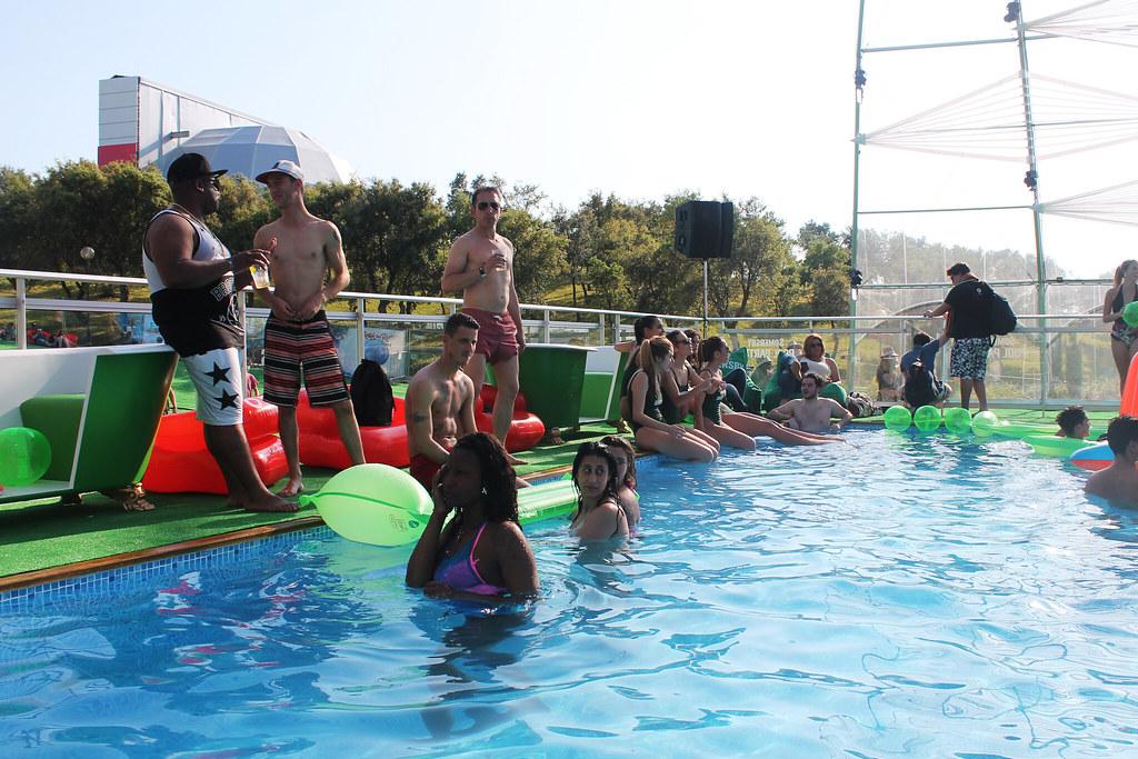 Somersby Pool Parties - Rock in Rio Lisboa 2016