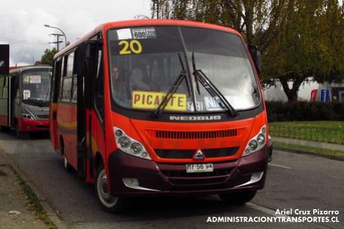 Valdivia Bus (Línea 20) - Sociedad de Transportes Regional - Neobus Thunder / Agrale (MY5694)