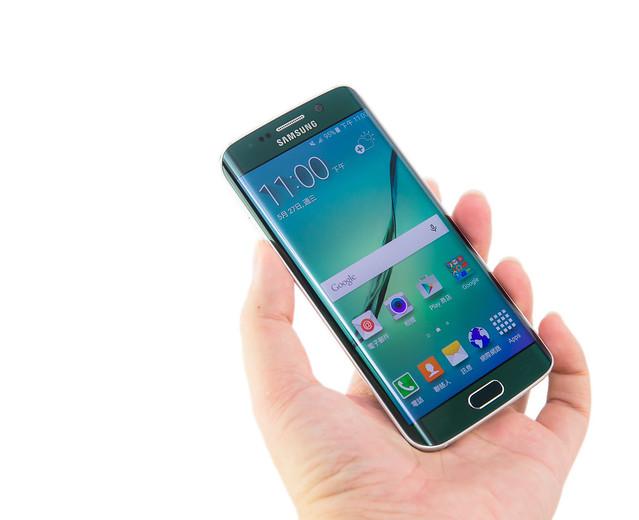 不一樣的美!SAMSUNG Galaxy S6 edge 極光綠 分享 @3C 達人廖阿輝