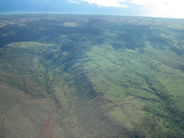 Aerial Pictures of Molokai