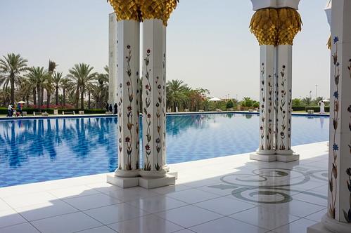 Sheikh Zayed Mosque - Exterior V.