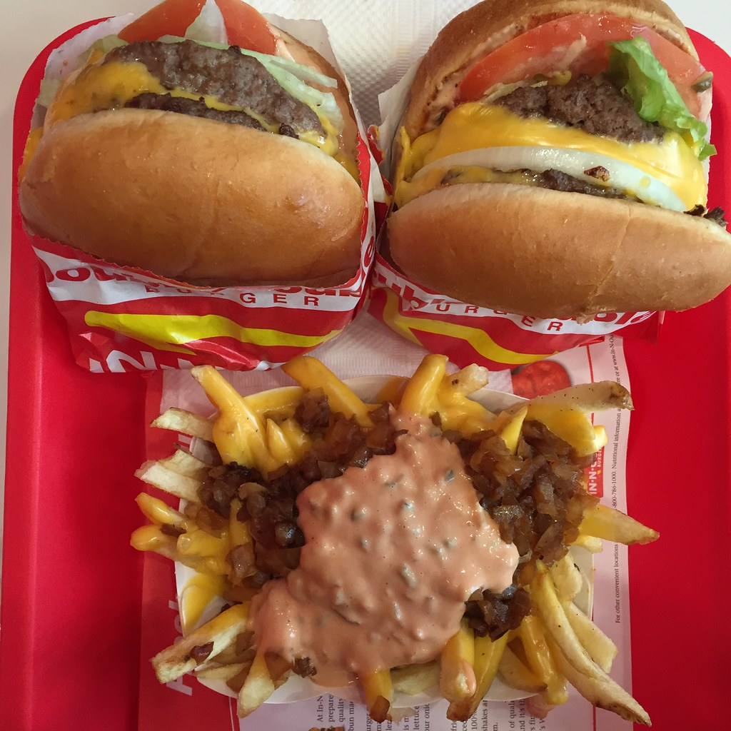 In N Out San Francisco animal style