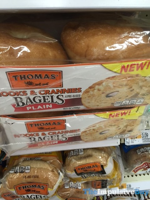 Thomas' Nooks & Crannies Plain Bagels