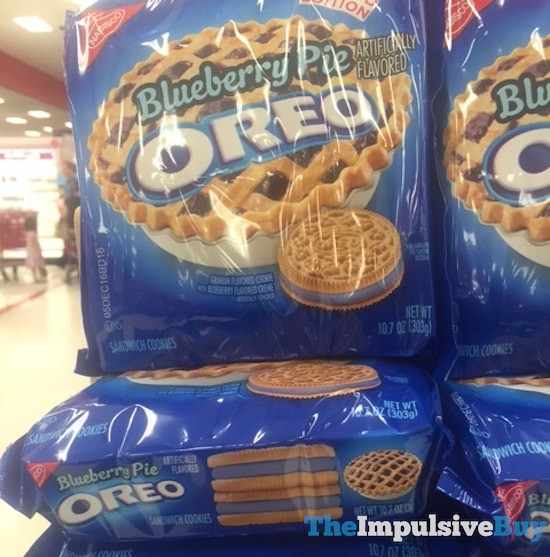 Limited Edition Blueberry Pie Oreo Cookies