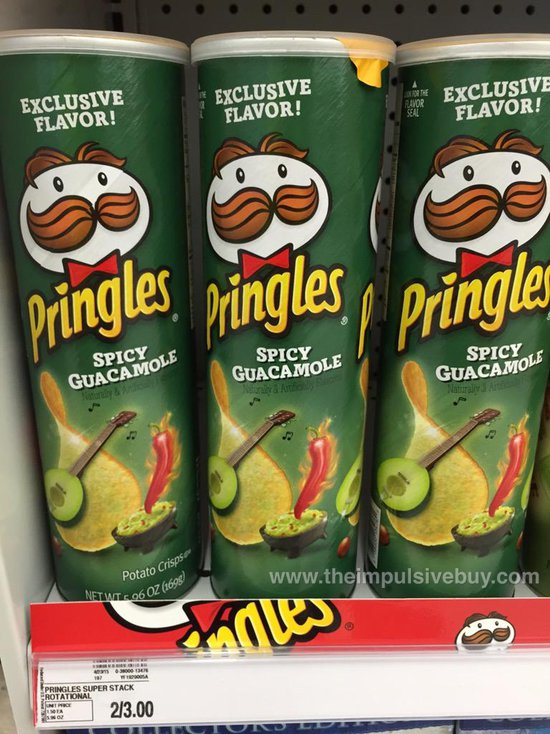 Spicy Guacamole Pringles (Meijer Exclusive)