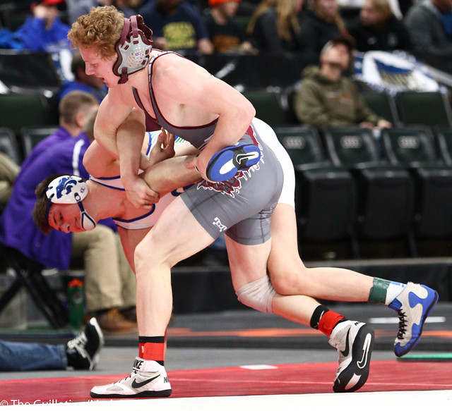 145AAA 5th Place Match - Scott Springer (Anoka) 47-7 won by decision over Ty Gage (Eagan) 30-13 (Dec 6-0) - 190302cmk0133