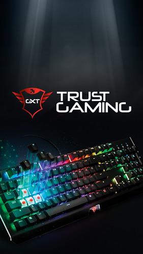 Trust Gaming Smartphone Wallpaper - Keyboard