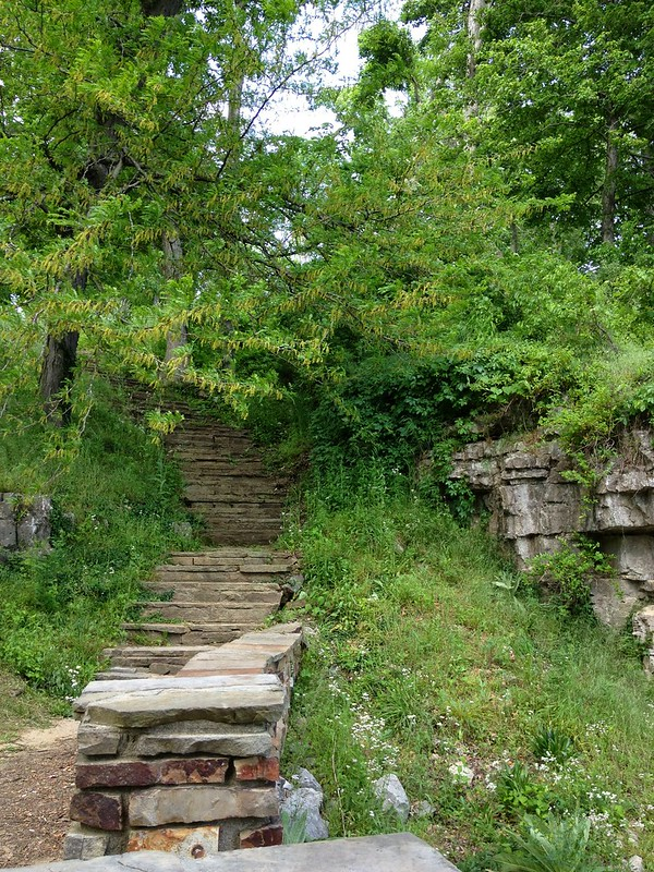 Another compelling stairway at Cave-in-Rock