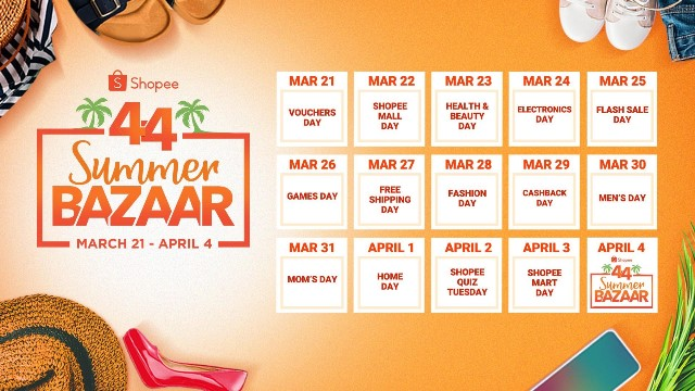Shopee 4.4 Summer Bazaar 1