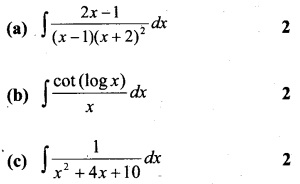 Plus Two Maths Chapter Wise Questions and Answers Chapter 7 Integrals 55