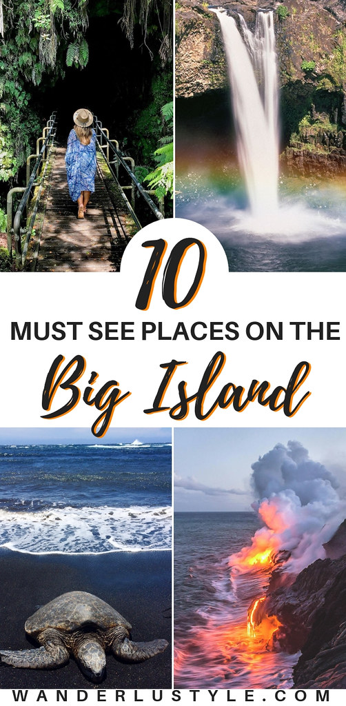 Planning a trip to the Big Island? Here's 10 place you must visit while you're there! - Hawaii Travel Tips, Big Island Things to do, Hawaii Volcano National Park | Wanderlustyle.com