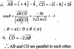 Plus Two Maths Chapter Wise Questions and Answers Chapter 10 Vector Algebra 68