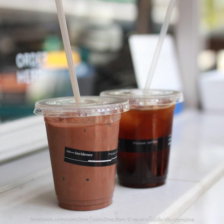 Iced Americano อเมริกาโน่เย็น, ช็อกโกแลตเย็น Co-incidence