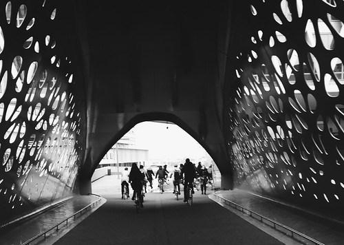 Puente para bicis