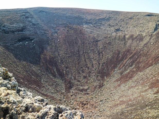 Cráter del volcán Calderón Hondo