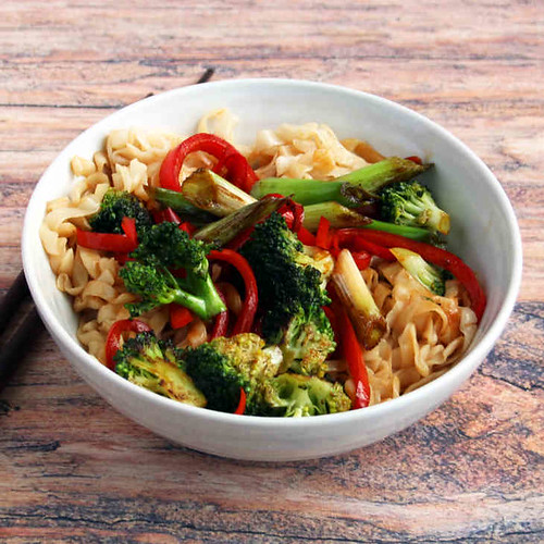 Vegetarian Keto Chow Mein Recipe
