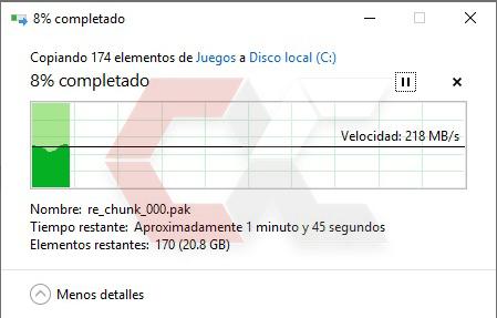 Copiado de disco a SSD Savage Overcluster