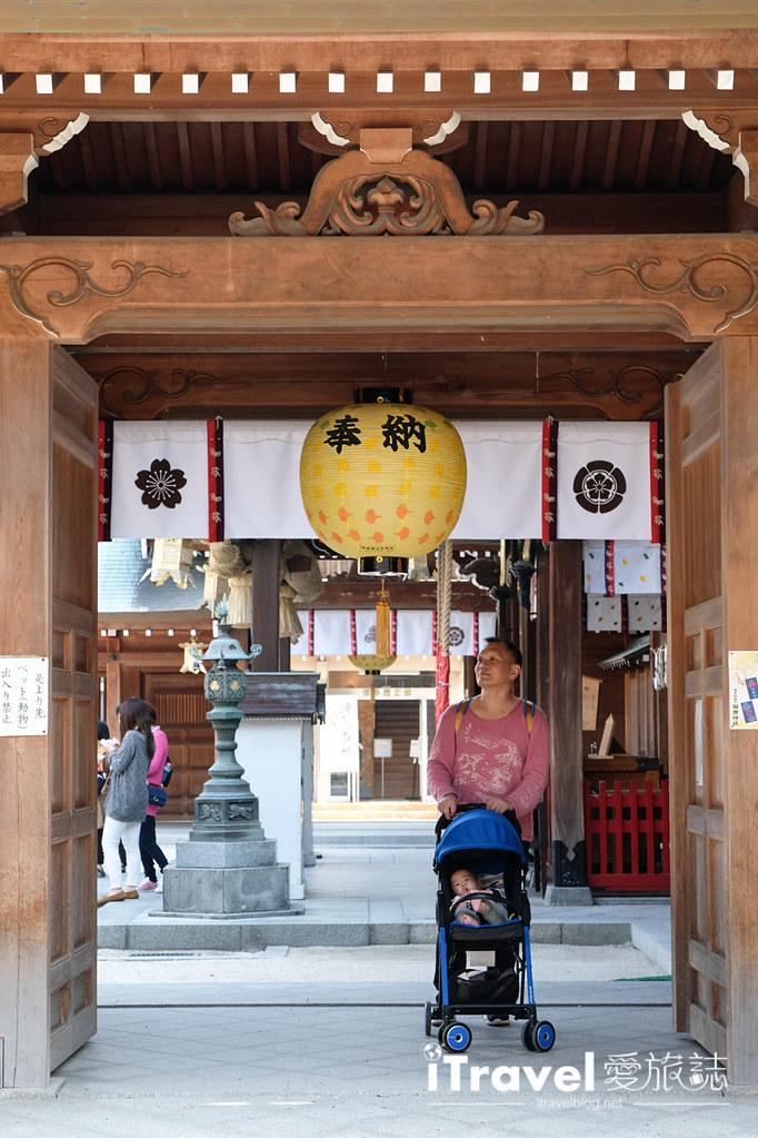 福岡賞櫻景點 櫛田神社 (18)