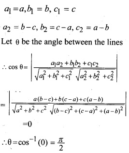 Plus Two Maths Chapter Wise Questions and Answers Chapter 11 Three Dimensional Geometry 9