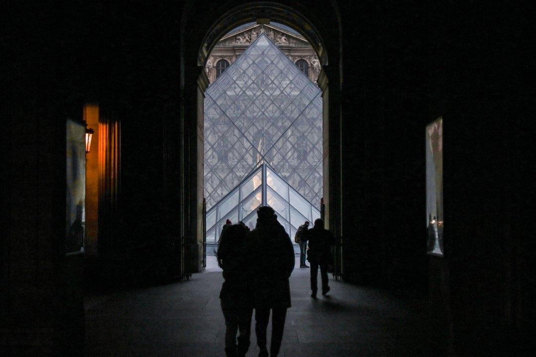 Piramide del Louvre, Parigi