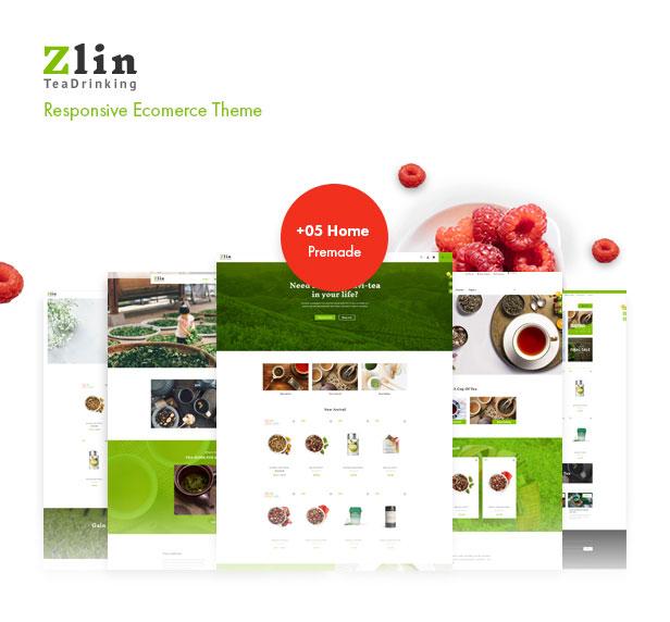 Leo Zlin - best prestashop tea shop theme