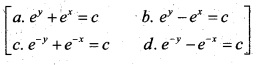 Plus Two Maths Chapter Wise Questions and Answers Chapter 9 Differential Equations 55