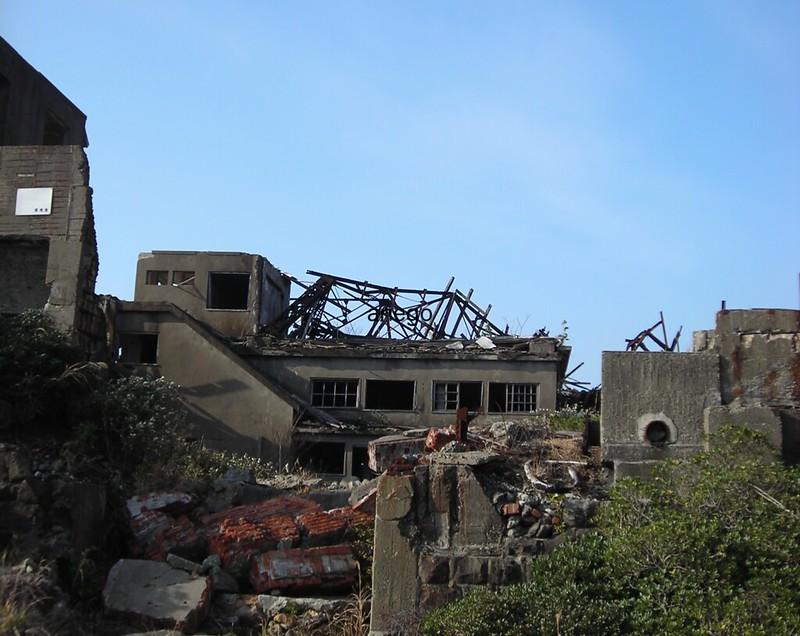 軍艦島 廃墟