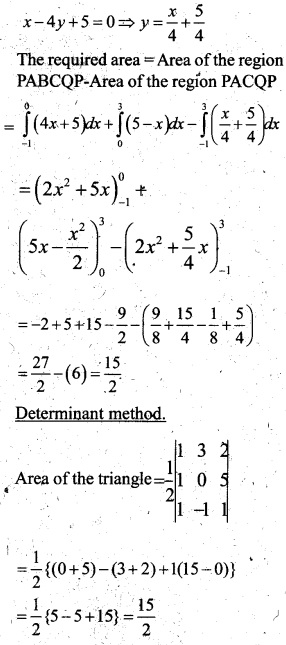 Plus Two Maths Chapter Wise Questions and Answers Chapter 8 Application of Integrals 50