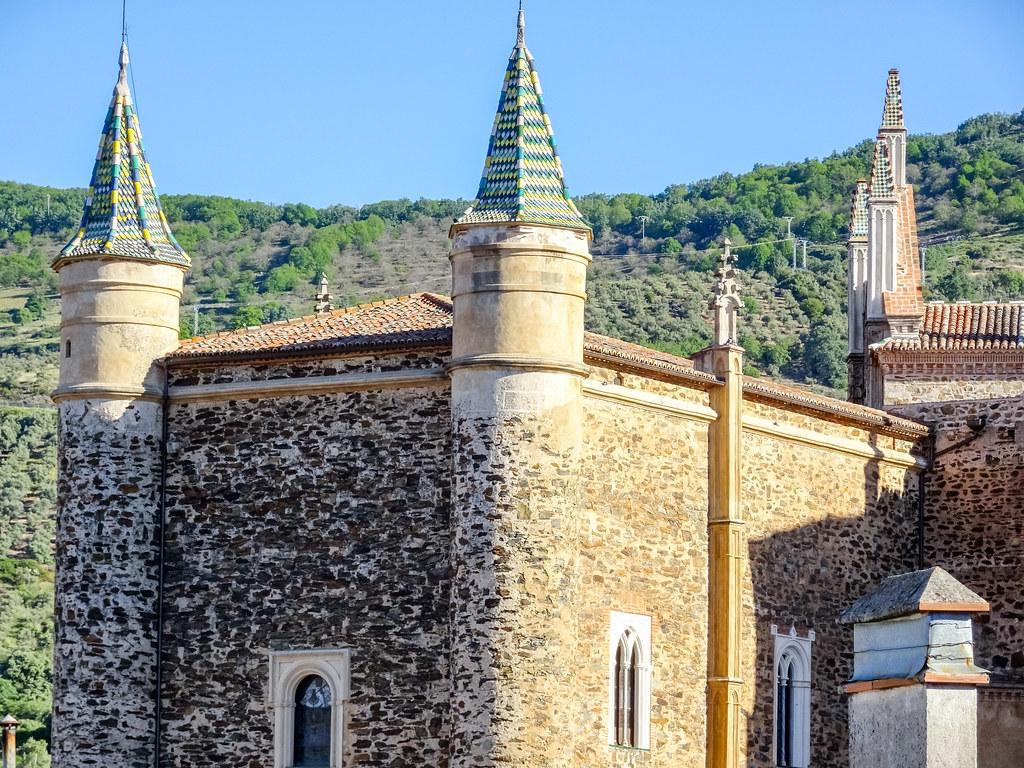 Porteria o Mayordomía exterior Real Monasterio de Santa Maria de Guadalupe Caceres 02