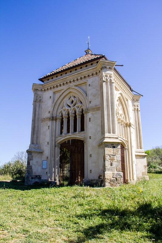 exterior Ermita del Humilladero Guadalupe Caceres 01