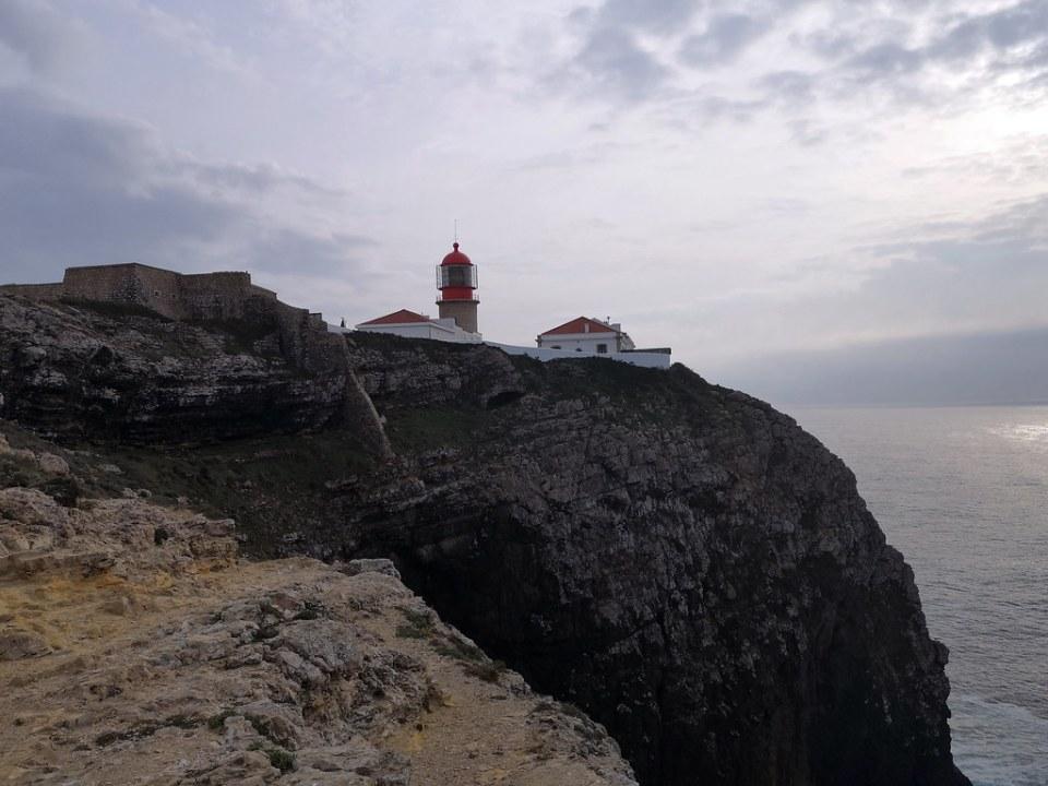 faro y fortificacion Cabo de San Vicente Sagres Algarve Portugal 4