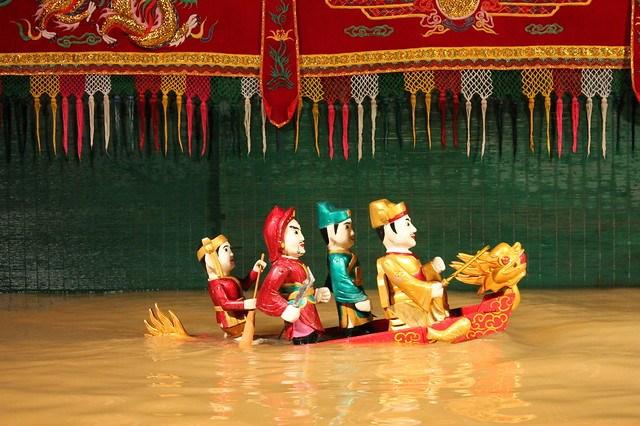 Marionetas de Agua de Vietnam