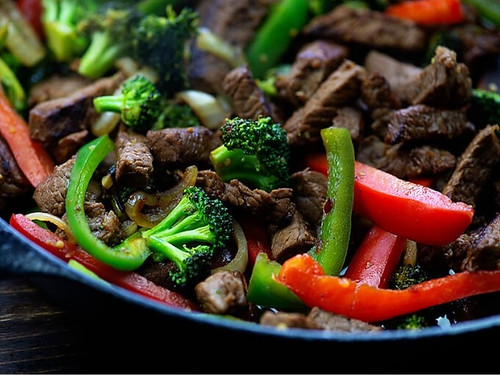 Keto Beef Stir Fry