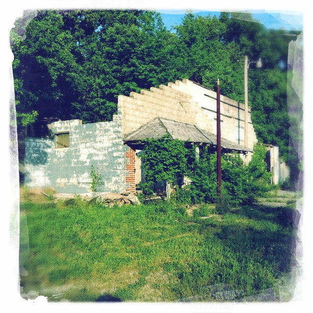 Former gas station?