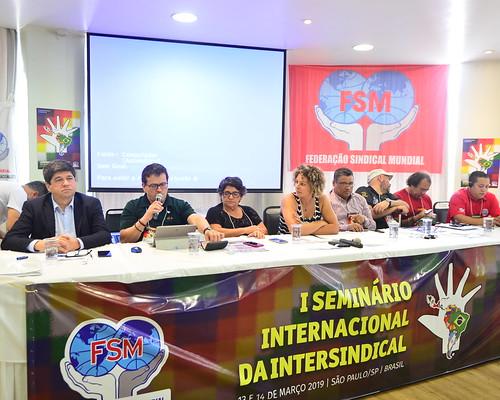 1º Seminário Internacional da Intersindical (14/03)