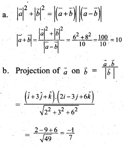 Plus Two Maths Chapter Wise Questions and Answers Chapter 10 Vector Algebra 6