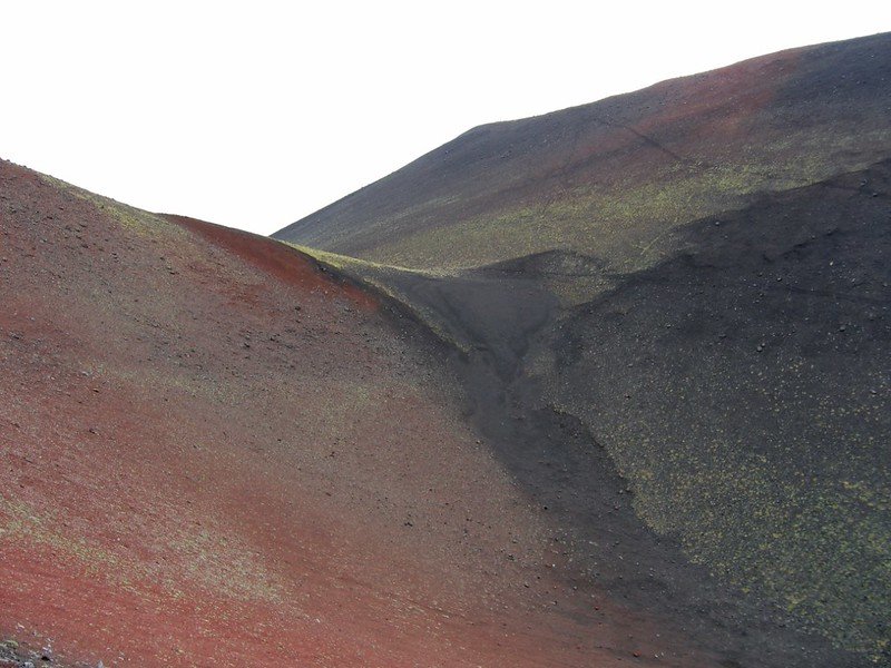 В кратере, Камчатка