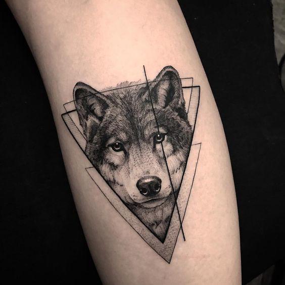 Tatuajes De Lobos Tu Animal De Compañia Mini Tatuajes