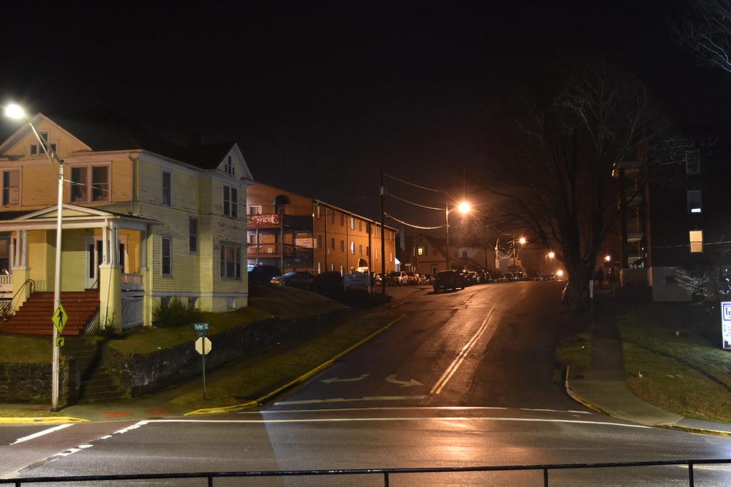 Tyler Street at night (3)
