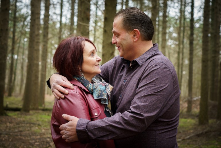 Cecile en Han, tijdens een loveshoot. (Sony A7R III + FE24-70ZA @ 70mm | ISO2500 | f/5,6 | 1/80)