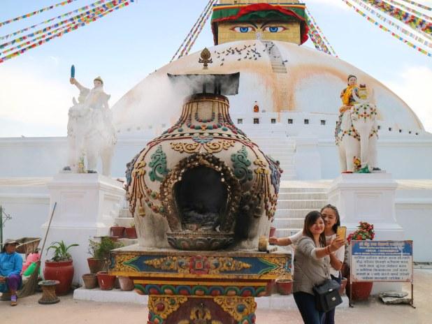Excursión a Boudhanath