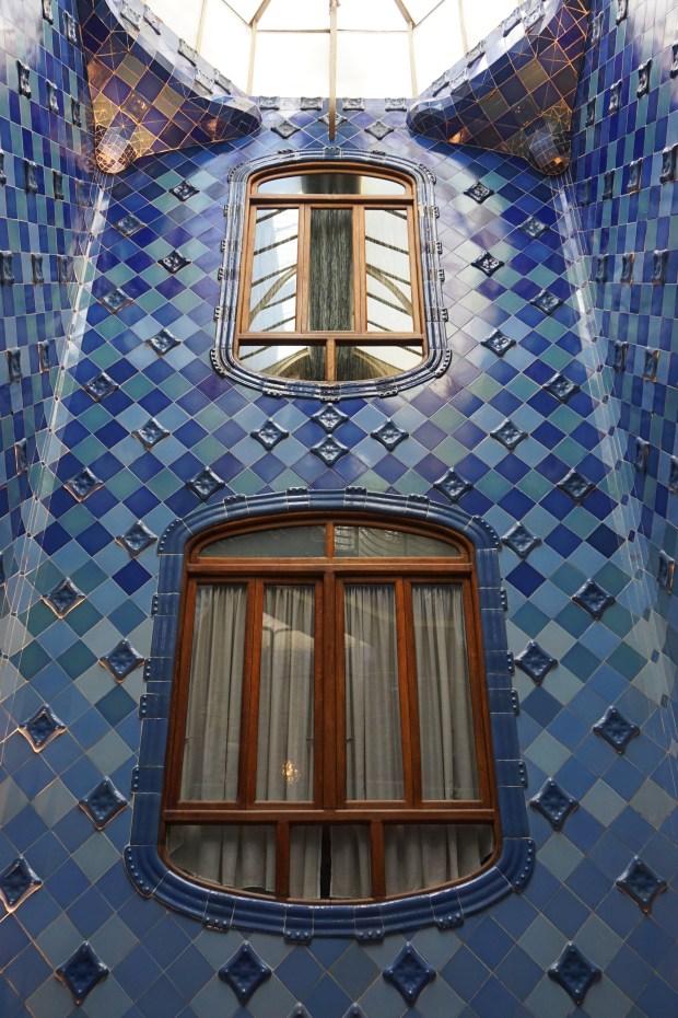 Casa Batlló atrium